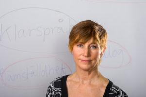 Maria Sundin är ägare till Textfixarna. Foto David Gimlin