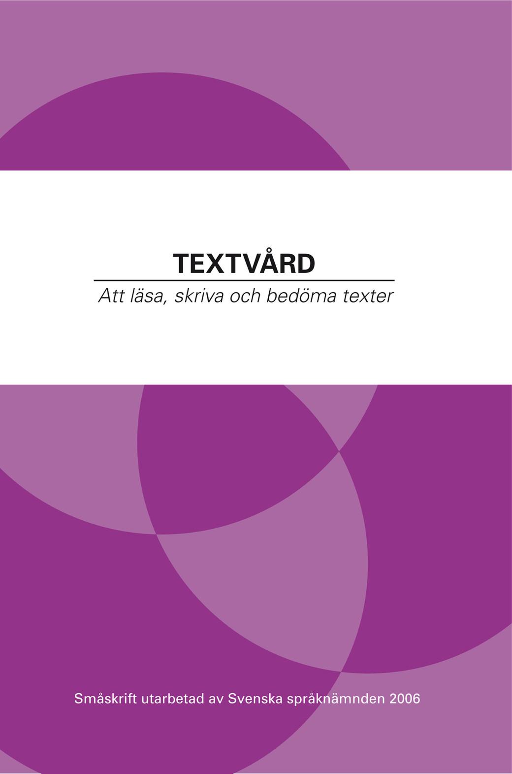 Textvård